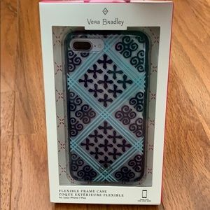 Vera Bradley iPhone 7 Plus flexible frame case